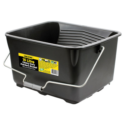 Paint Bucket with Built-in Roller Ramp (15L)